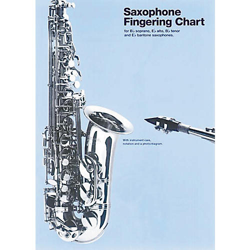 Music Sales Saxophone Fingering Chart