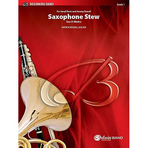 Alfred Saxophone Stew Concert Band Grade 1 Set