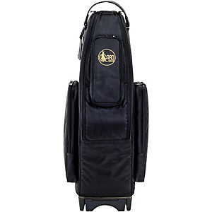 Gard Saxophone Wheelie Bag in Synthetic with Leather Trim by Gard