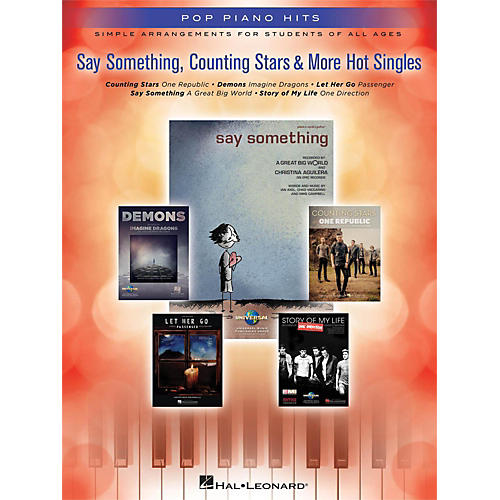 Hal Leonard Say Something, Counting Stars & More Hot Singles for Easy Piano-thumbnail