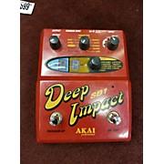 Akai Professional Sb1 Deep Impact Synth Bass Effect Pedal