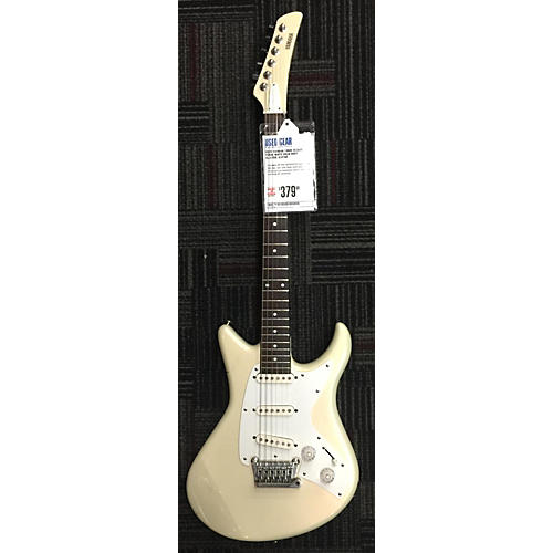 Yamaha Sc300T Solid Body Electric Guitar Pearl White