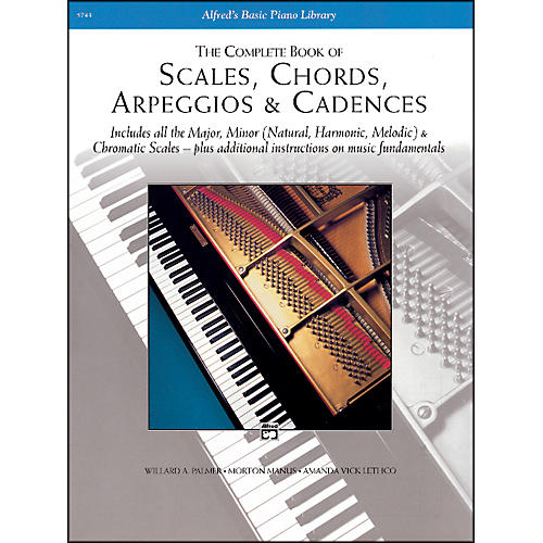 Alfred Scales Chords Arpeggios & Cadences - Complete Book Complete Book-thumbnail