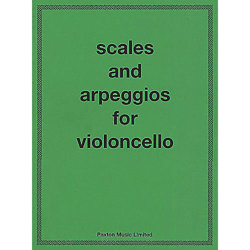 Novello Scales and Arpeggios for Violoncello Music Sales America Series Written by A.W. Benoy