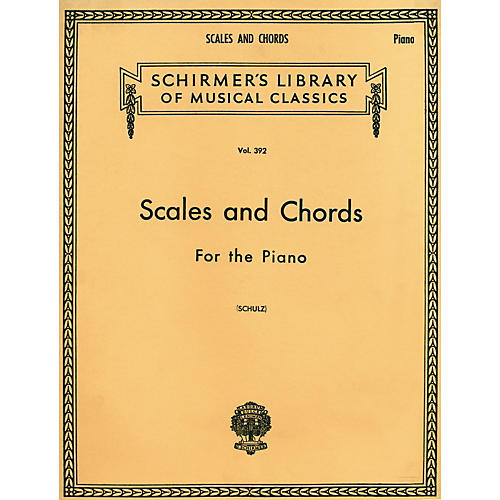 G. Schirmer Scales and Chords in all the Major and Minor Keys-thumbnail