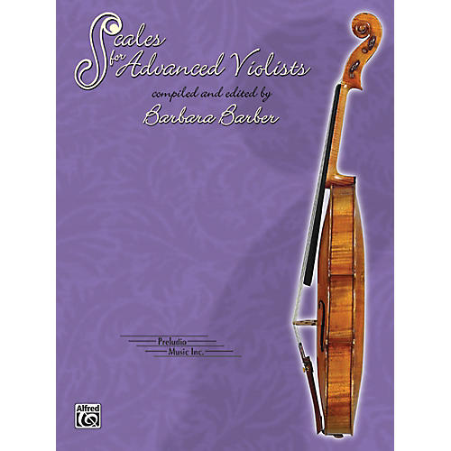 Alfred Scales for Advanced Violists Book-thumbnail