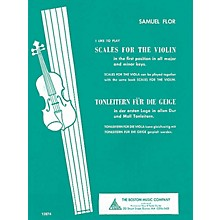 Boston Music Scales for the Violin (I Like to Play Series) Music Sales America Series Written by Samuel Flor