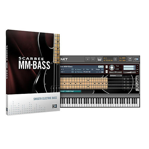 Native Instruments Scarbee MM-Bass