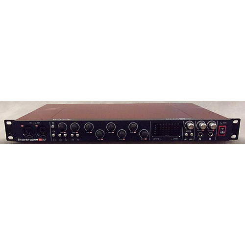 Focusrite Scarlett 18i20 Audio Interface-thumbnail