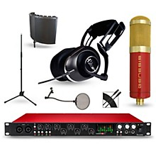 Focusrite Scarlett 18i20 Recording Package with MXL Genesis and BLUE Lola