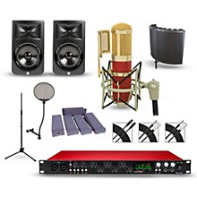 Focusrite Scarlett 18i20 Recording Package with MXL Genesis and JBL LSR308 Pair