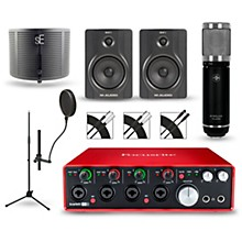 Focusrite Scarlett 18i8 2nd Gen Interface with Sterling ST59 and M-Audio BX5 Pair