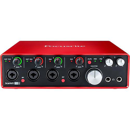 Focusrite Scarlett 18i8 (2nd Gen) USB Audio Interface-thumbnail