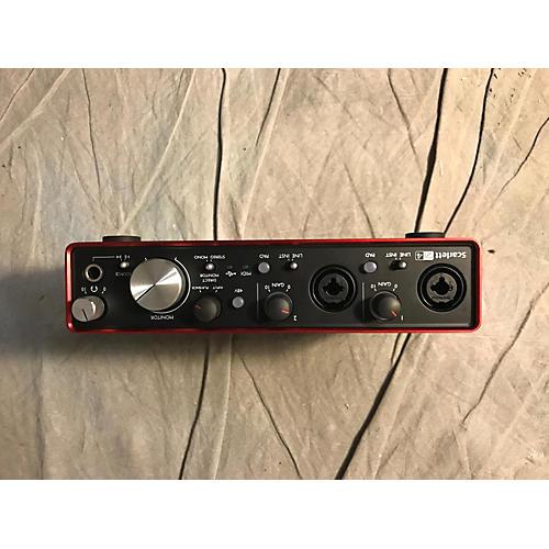 used focusrite scarlett 2i4 usb 2nd gen audio interface guitar center. Black Bedroom Furniture Sets. Home Design Ideas