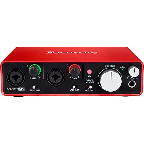 Focusrite Scarlett 2i2 (2nd Generation) USB Audio Interface-thumbnail