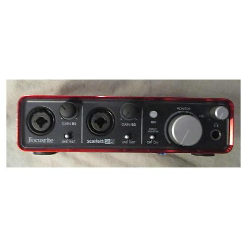 used focusrite scarlett 2i2 usb audio interface guitar center. Black Bedroom Furniture Sets. Home Design Ideas