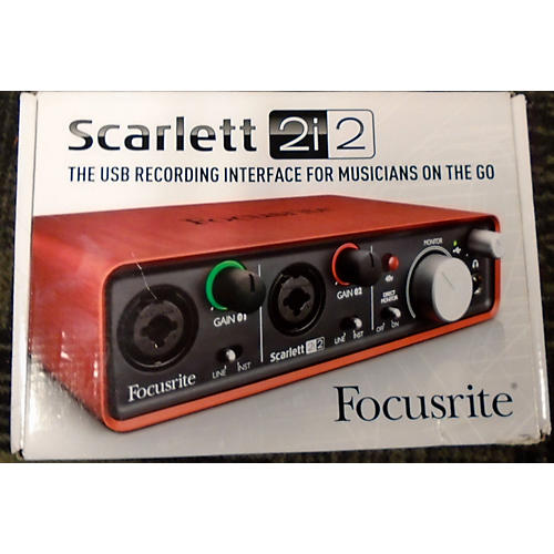 how to connect midi keyboard to focusrite scarlett 2i2