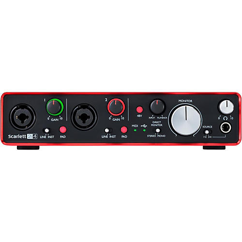 Focusrite Scarlett 2i4 (2nd Gen) USB Audio Interface