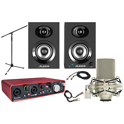 Focusrite Scarlett 2i4 MXL 990 Package-thumbnail