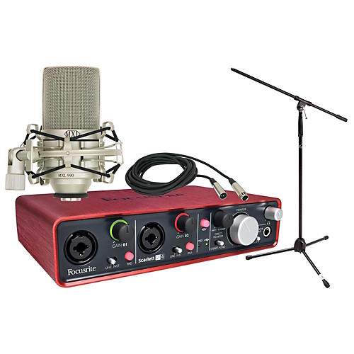 Focusrite Scarlett 2i4 Package