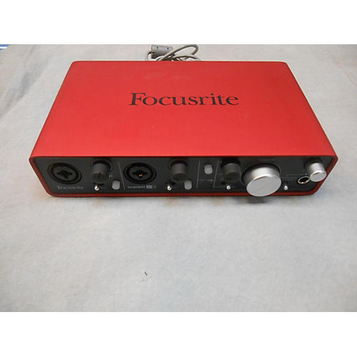 Focusrite Scarlett 2i4 USB Audio Interface-thumbnail