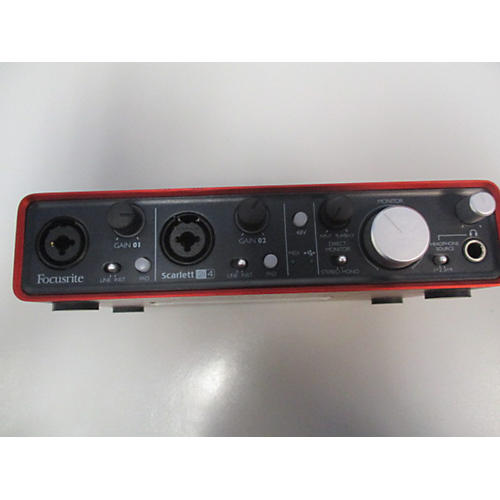 Focusrite Scarlett 2i4 USB Audio Interface-thumbnail
