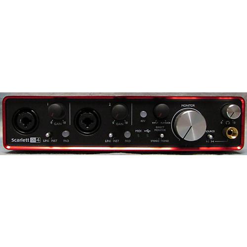 used focusrite scarlett 2i4 usb audio interface guitar center. Black Bedroom Furniture Sets. Home Design Ideas