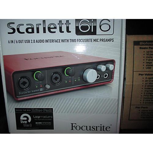 Focusrite Scarlett 6i6 Audio Interface-thumbnail