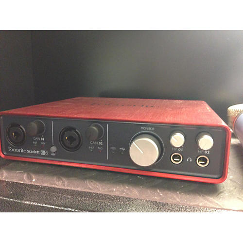 Focusrite Scarlett 6i6 Audio Interface-thumbnail