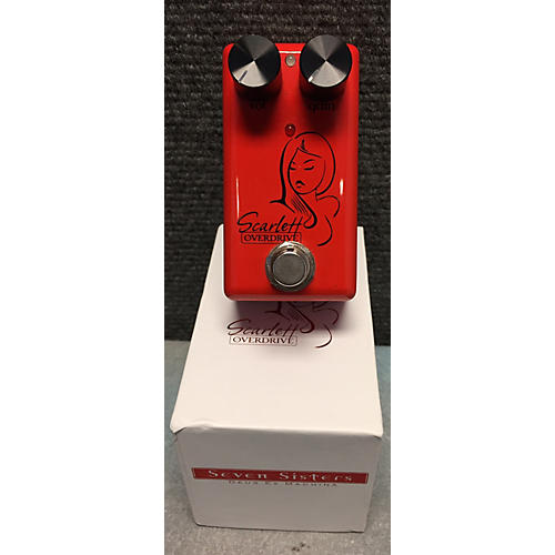 Red Witch Scarlett Overdrive Effect Pedal-thumbnail