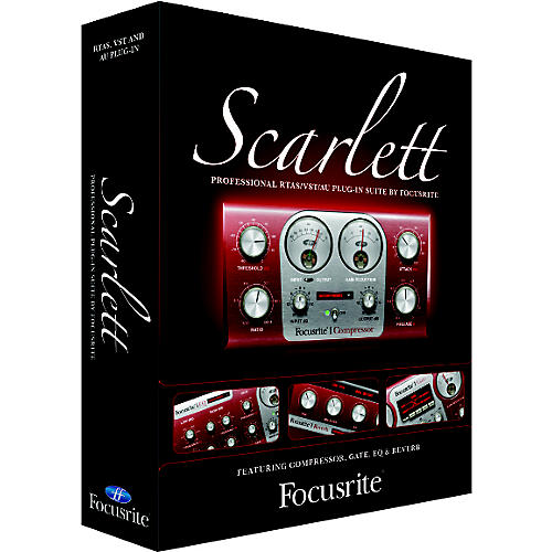 Focusrite Scarlett Plug-in Suite