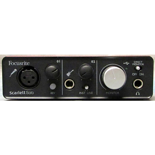 Focusrite Scarlett Solo Audio Interface-thumbnail