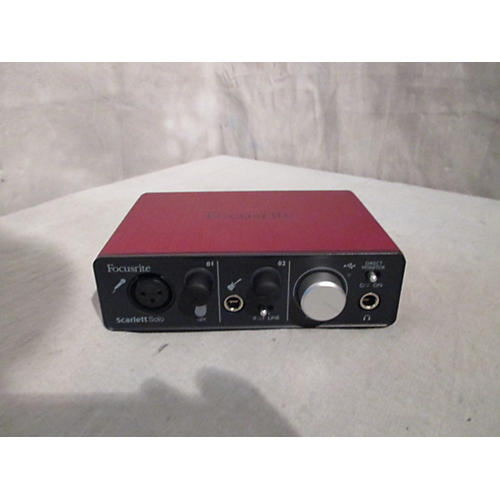 Focusrite Scarlett Solo Audio Interface-thumbnail
