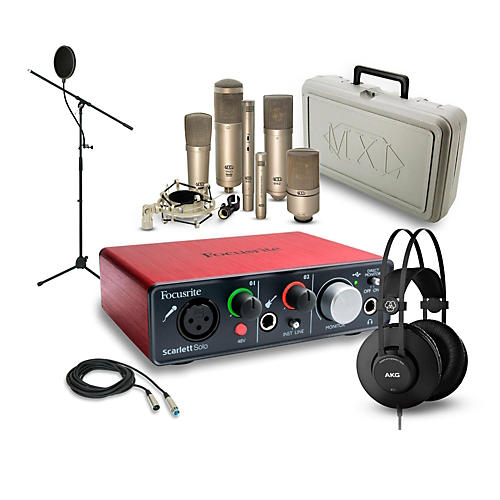 Focusrite Scarlett Solo K52 and 990 Package-thumbnail