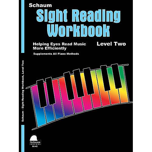 SCHAUM Schaum Sight Reading Workbook (Level 2) Educational Piano Book