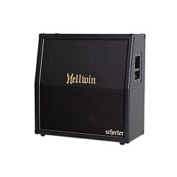 Schecter Guitar Research SYN412-SL Hellwin USA 4x12 Slant Guitar Speaker Cabinet (4004)