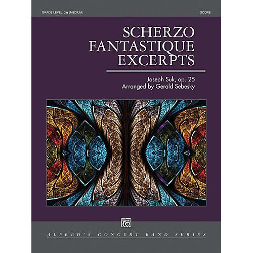 Alfred Scherzo Fantastique Excerpts Concert Band Grade 3.5