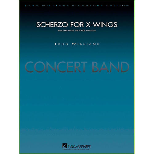 Hal Leonard Scherzo For X-Wings Concert Band Level 5 by Paul Lavender-thumbnail