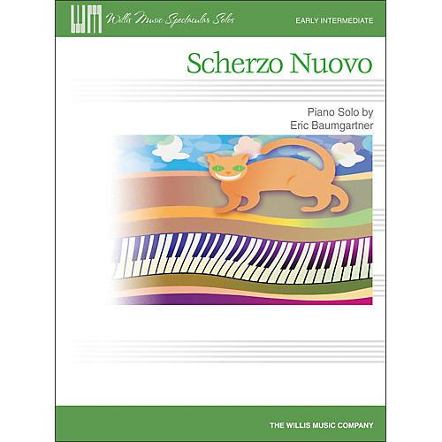 Willis Music Scherzo Nuovo - Early Intermediate Piano Solo Sheet