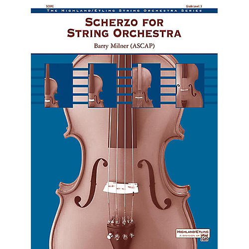 Alfred Scherzo for String Orchestra String Orchestra Grade 3