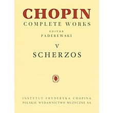 PWM Scherzos (Chopin Complete Works Vol. V) PWM Series Softcover