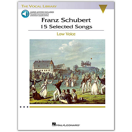 Hal Leonard Schubert - 15 Selected Songs for Low Voice (The Vocal Library) Book/Online Audio-thumbnail
