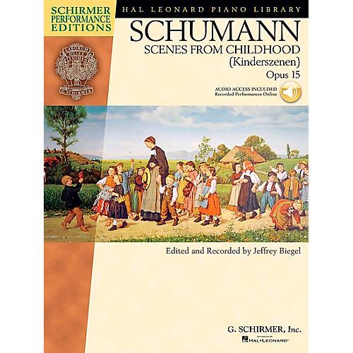 G. Schirmer Schumann: Scenes From Childhood Kinderscenen Op 15 Book/CD Schirmer Performance Edition By Schumann / Biegel-thumbnail