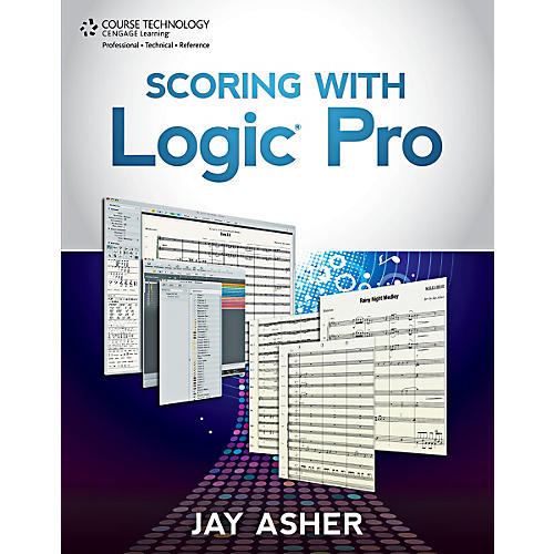 Cengage Learning Scoring with Logic Pro Book-thumbnail