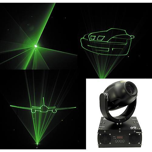 CHAUVET DJ Scorpion GRAFX Moving Yoke Green Graphics Laser