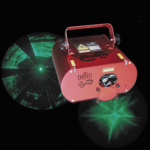 Chauvet Scorpion Scan Green Laser