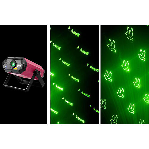 Chauvet Scorpion Script Custom Text Laser