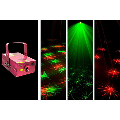 CHAUVET DJ Scorpion Storm FX Red and Green Laser Effect Light