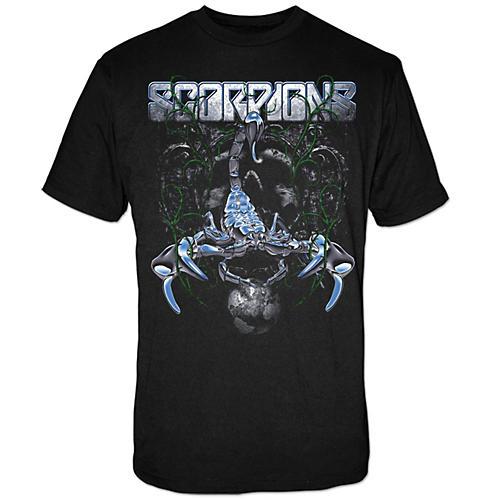 FEA Merchandising Scorpions -  Metallic Scorpion Chrome Sting T-Shirt