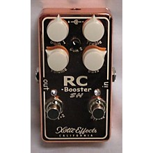 Xotic Scott Henderson Artist Series RC Booster Effect Pedal